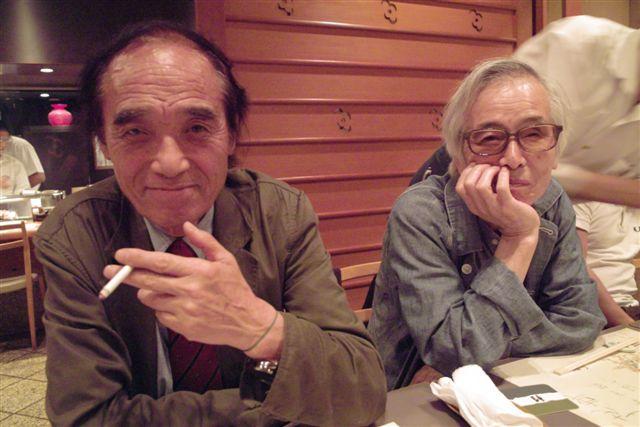 写真家桑原史成さんと英伸三さんのお二人は、写真学校時代からのよきライバルであり親友だ。僕は若かりし頃、3年間ほど英伸三塾の塾生だった。