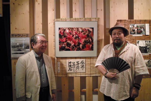 僕が敬愛する先輩写真家・細江英公さんともパチリ。