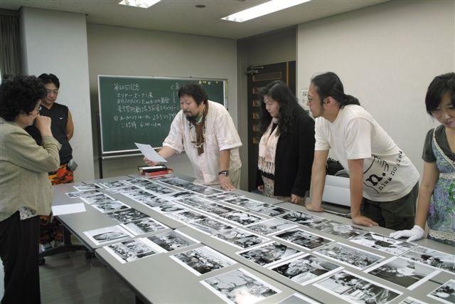 写真研究会「風」第2回例会での合評(8月8日)
