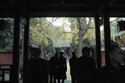 夕方、市内へ戻ってから武候祠と昭烈帝廟へ行った。